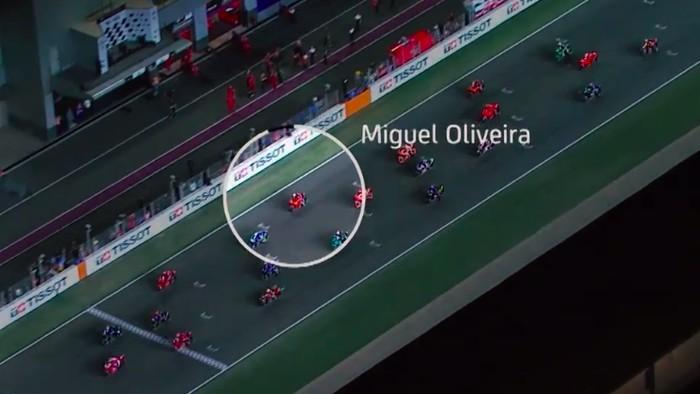 Miguel Oliveira Start Dari 12 Naik ke Posisi 4