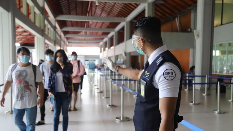 Situasi Bandara Ngurah Rai di hari libur akhir pekan Paskah
