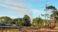 Semburan Lumpur dari Sumur Pertamina di Tarakan Akhirnya Berhenti