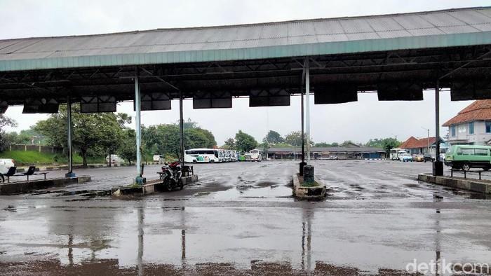 Terminal Pasirhayam Cianjur Sepi