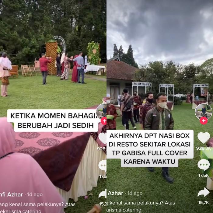 Viral di TikTok, vendor catering menghilang saat hari pernikahan tiba
