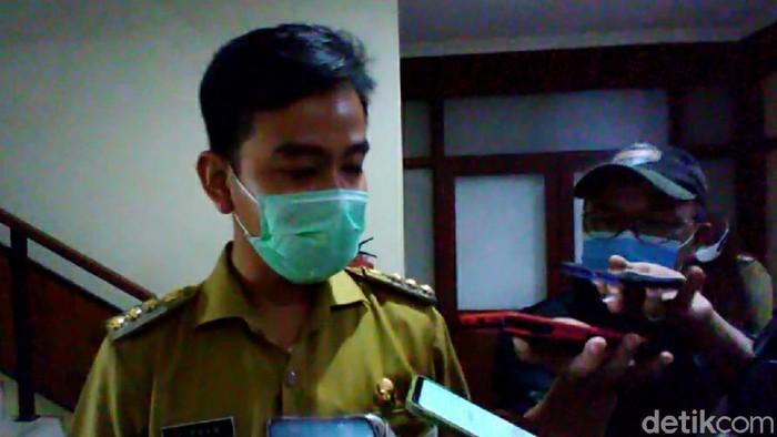 Wali Kota Solo, Gibran Rakabuming Raka, Senin (5/4/2021).