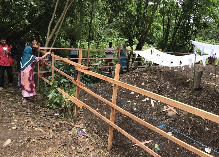 Warga mulai keramatkan kuburan yang tanahnya meninggi di Sumatera Barat