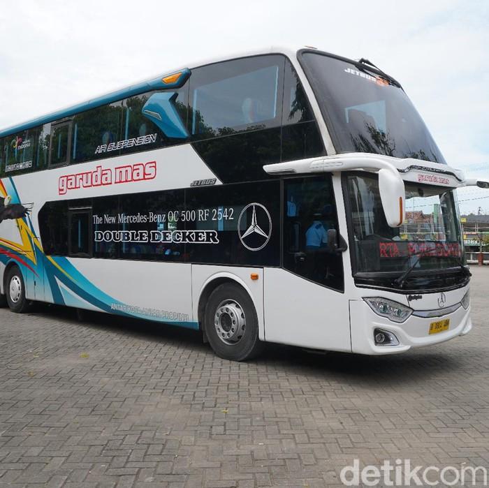 Bus Double Decker PO Garuda mas
