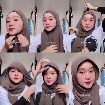 hijab plismet