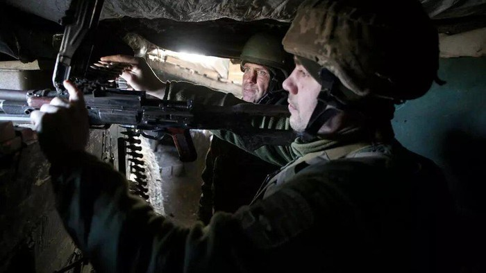Ukraine has been battling pro-Russian separatists in the eastern Donetsk and Lugansk regions since 2014 Anatolii STEPANOV AFP/File