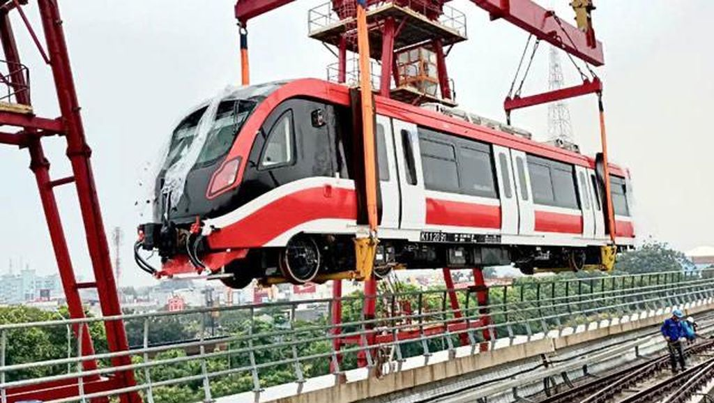 KAI Tambah 2 Trainset LRT Jabodebek, Ini Rincian Progresnya