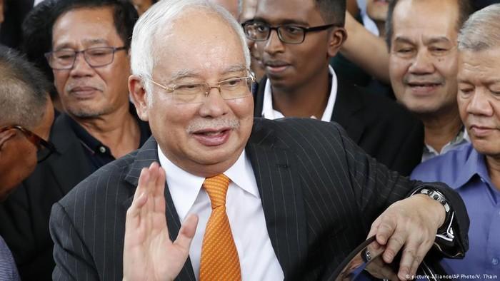 Mantan PM Malaysia Najib Razak Ajukan Banding Kasus Korupsi 1MDB