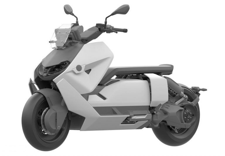 Paten desain BMW CE 04