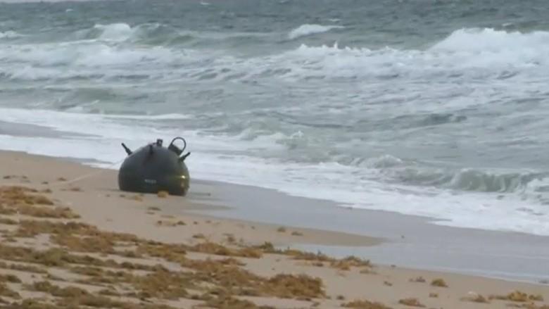 Ranjau Laut Ditemukan di Pantai Amerika