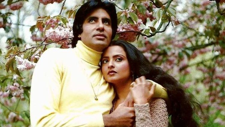 Rekha, Aktris Bollywood yang Jadi Selingkuhan Amitabh Bachchan