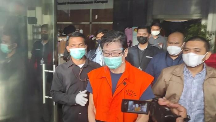 Samin Tan ditahan KPK, Selasa (6/4/2021).