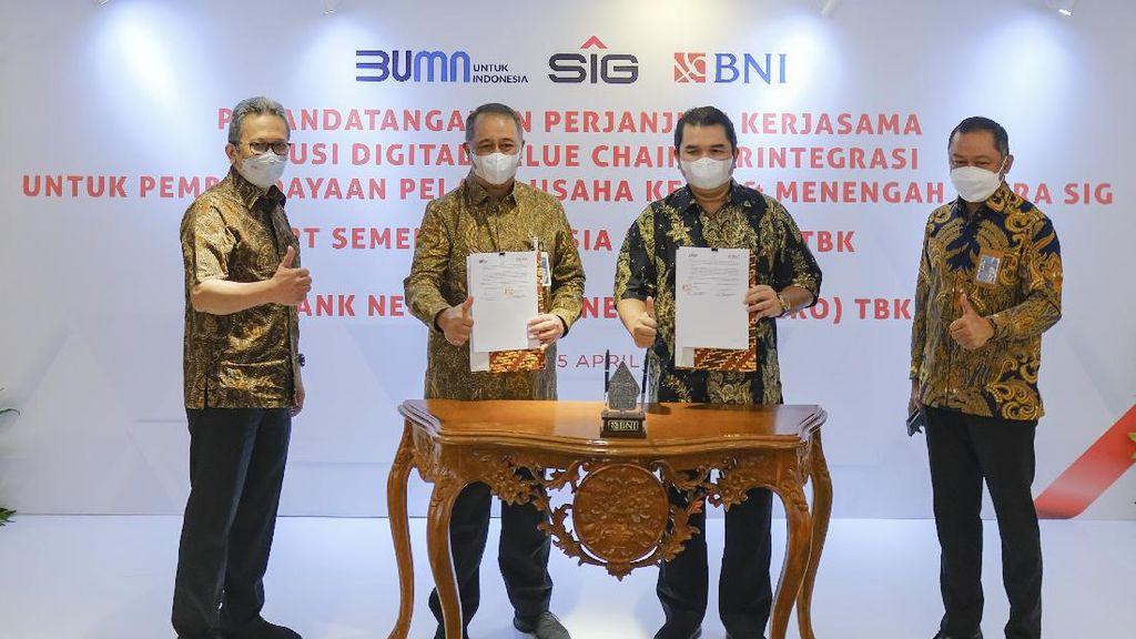 Sinergi Semen Indonesia dan Bank Negara Indonesia