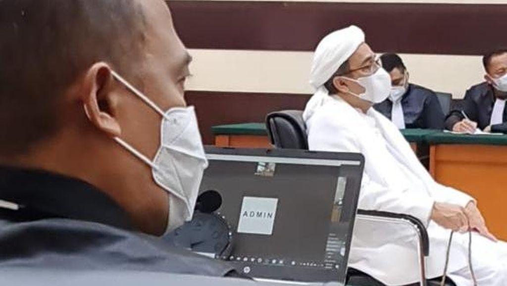 Eksepsi Kasus Swab Ditolak, Habib Rizieq Minta JPU Ungkap Nama-nama Saksi
