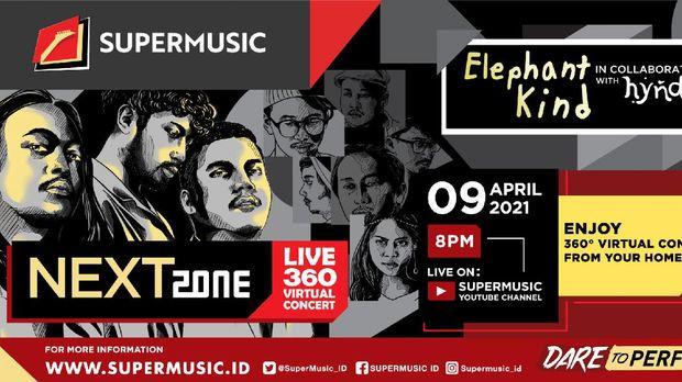Supermusic Nextzone Live 360 Virtual Concert