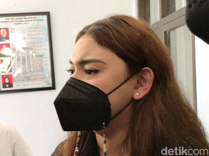 Thalita Latief  saat ditemui di PA Jakarta Pusat.