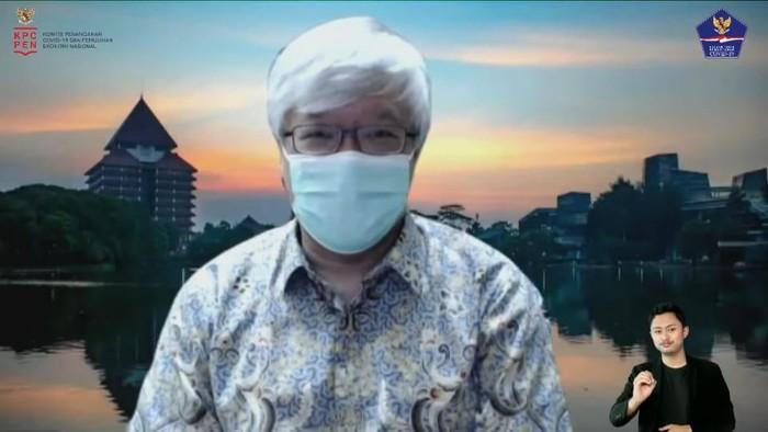 Tim Pakar Satgas COVID-19 dr Iwan Ariawan