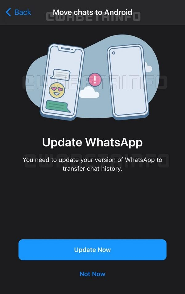 whatsapp migrasi ios ke android