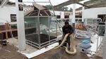 Atap Taman Reptil Purbalingga Roboh Diterjang Angin Kencang