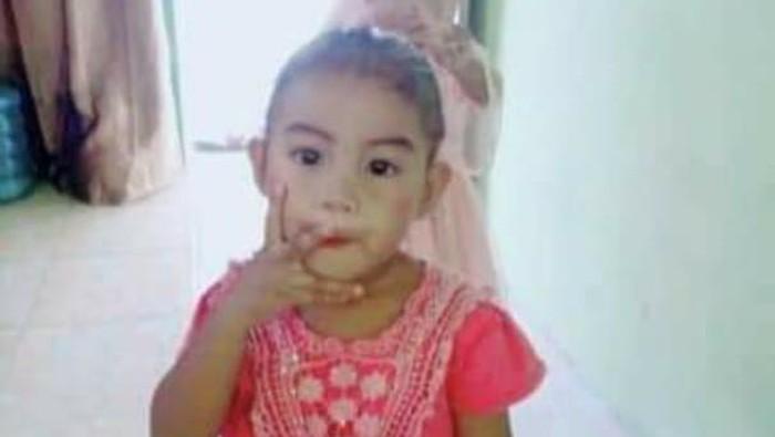 Balita Najwa (5) hilang di lautan bersama perahu milik ayahnya (dok. Istimewa).
