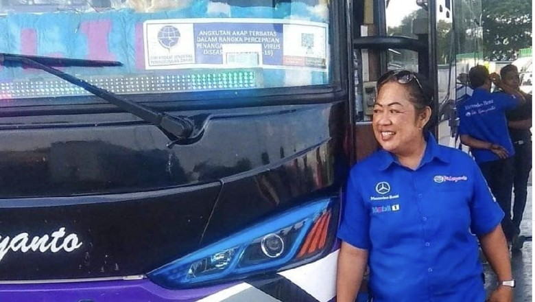 Bekti Rahayu, sopir wanita PO Haryanto