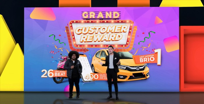 Customer Reward Pos Indonesia