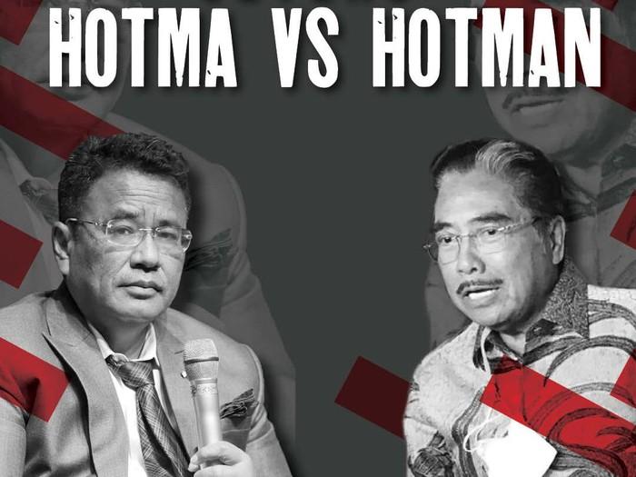 Hotman Paris vs Hotma Sitompul