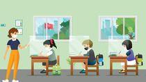 Mulai Sekolah Tatap Muka, Orangtua Biasakan Anak Patuh Prokes