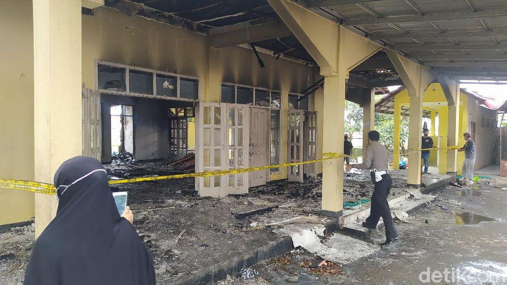 Kebakaran Masjid di Cianjur, Polisi: Diduga Akibat Korsleting
