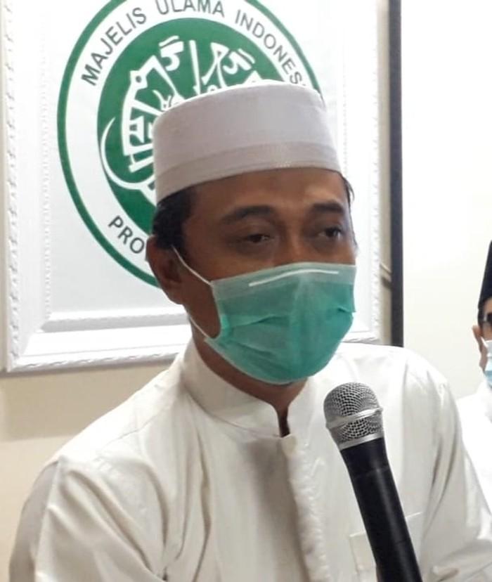 Ketua Fatwa MUI Jatim KH Makruf Khozin