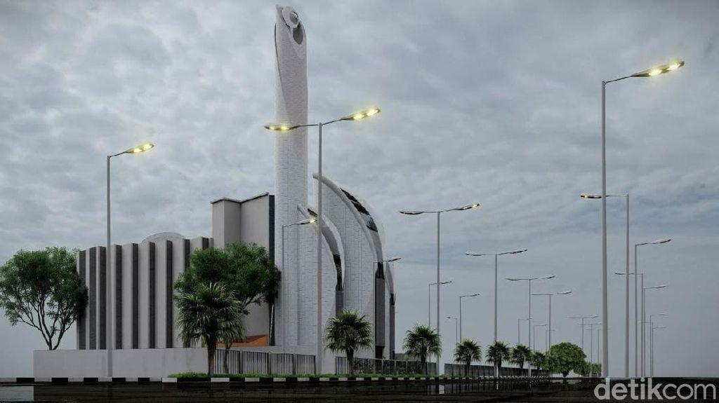 Imbas Serangan Israel ke Palestina, Proyek Masjid Rancangan RK Dihentikan