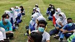 Melihat Latihan Gabungan Paskibraka di Tengah Pandemi