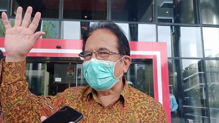 Menteri ATR/BPN Sofyan Djalil menyembanyi KPK
