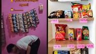 Bisa Ngemil Sepuasnya, 5 Orang Ini Punya Minimarket Pribadi di Rumah