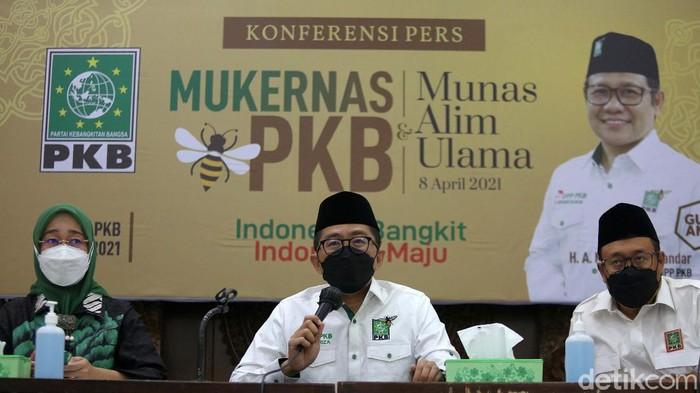 PKB akan menggelar Mukernas dan Munas Alim Ulama di Jakarta. Sikap politik PKB di Pemilihan Umum (Pemilu) 2024 akan turut dibahas dalam kegiatan tersebut.