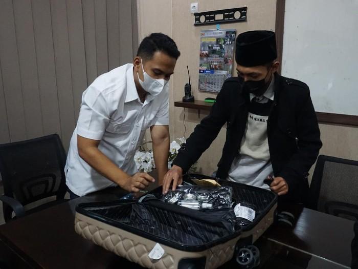 Pemilik Koper Misterius di Mojokerto Diamankan Polisi