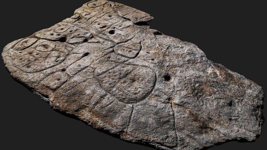 Peta Tiga Dimensi Usia 4.000 Tahun Ditemukan di Prancis