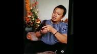Sopir Anggota DPRD di Sulsel yang Pamer Pistol Saat Live FB Ditangkap