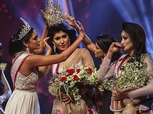 Drama Kontes Kecantikan Sri Lanka, Pemenang 2019 Rebut Mahkota Pemenang 2020