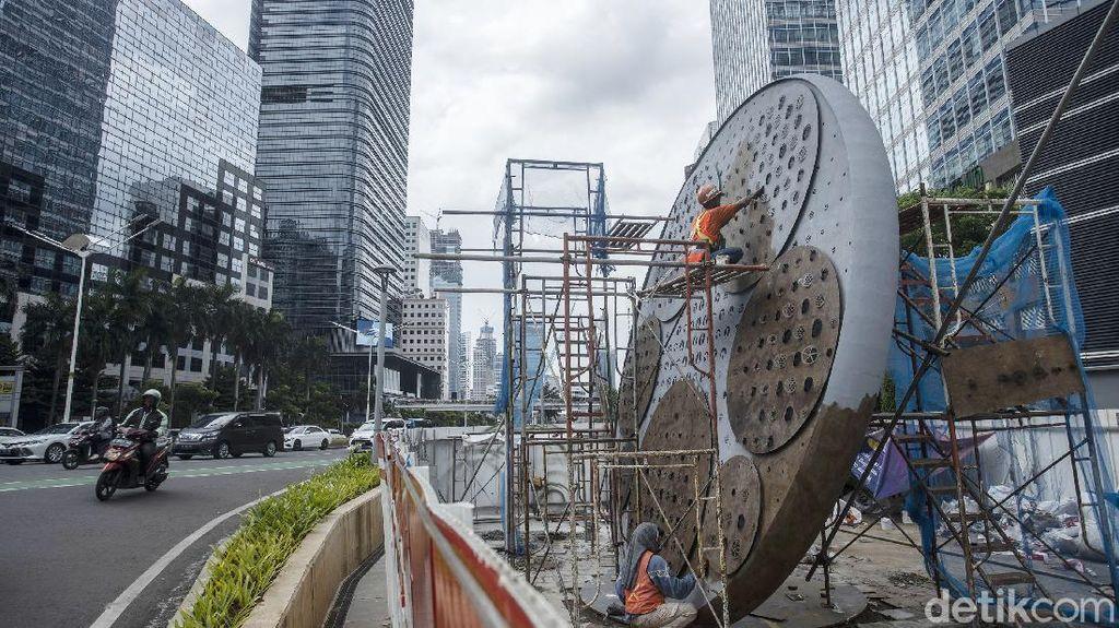 Dibangunnya Tugu Sepeda Ratusan Juta demi Hidup Sehat Warga Jakarta