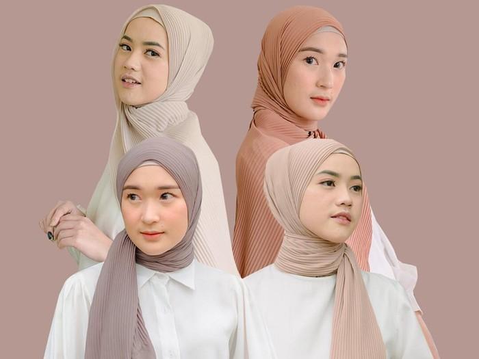 Tutorial hijab plisket.
