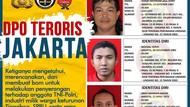 Polri Ungkap Peran 3 Buron Terduga Teroris Jakarta yang Diburu Densus 88