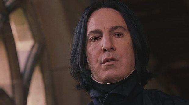 Alan Rickman pemeran Severus Snape.