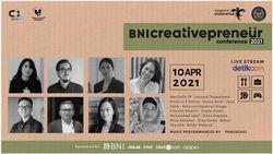 Dorong Majunya Industri Kreatif Lewat BNI Creativepreneur Conference 2021