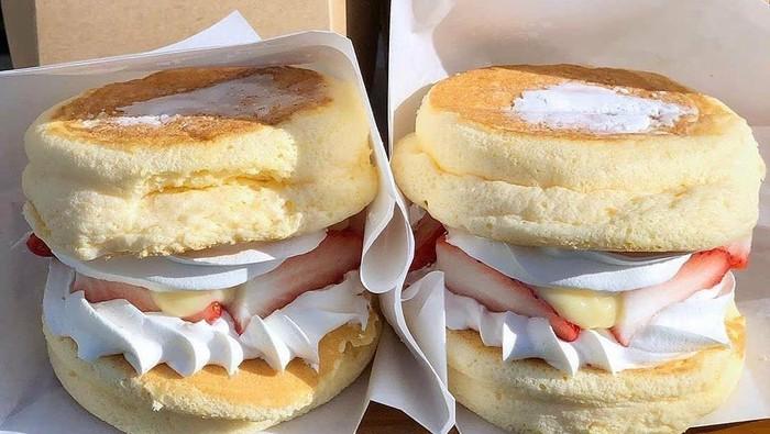 burger pancake jadi tren baru dessert