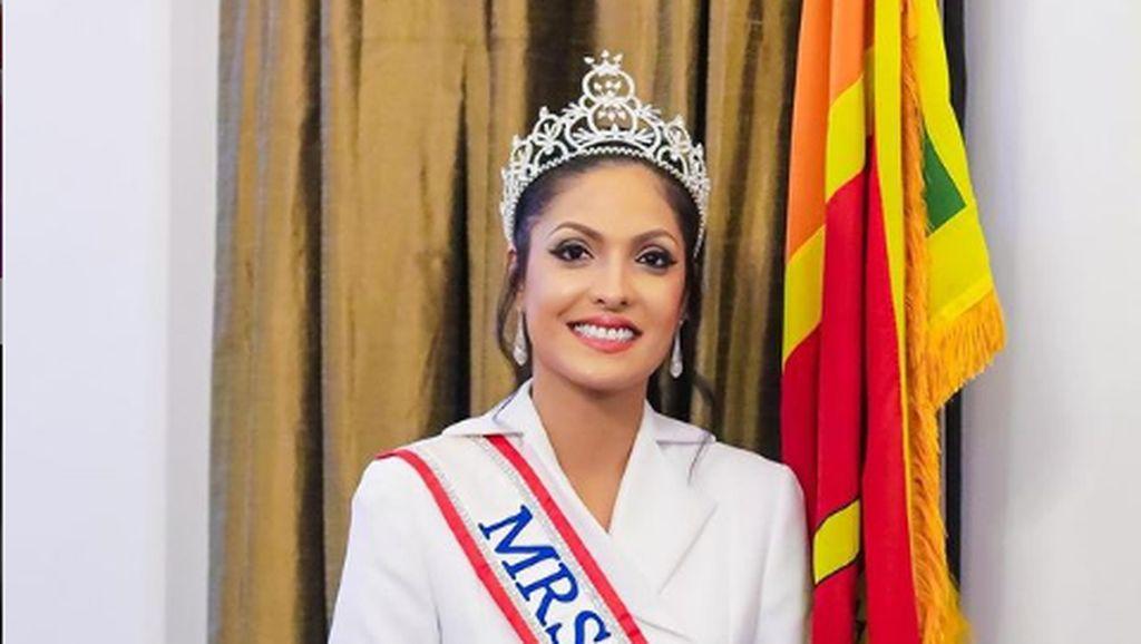 Fakta-fakta Caroline Jurie, Mrs. World Copot Paksa Mahkota Mrs. Sri Lanka