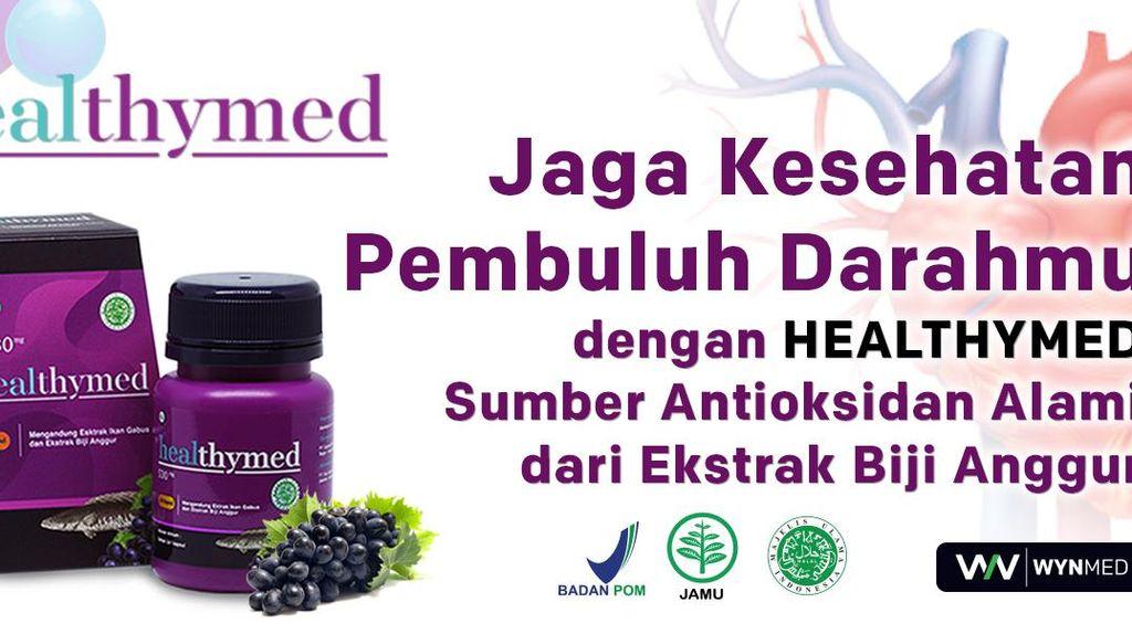 Jaga Kesehatan Pembuluh Darah dengan Antioksidan Alami Healthymed