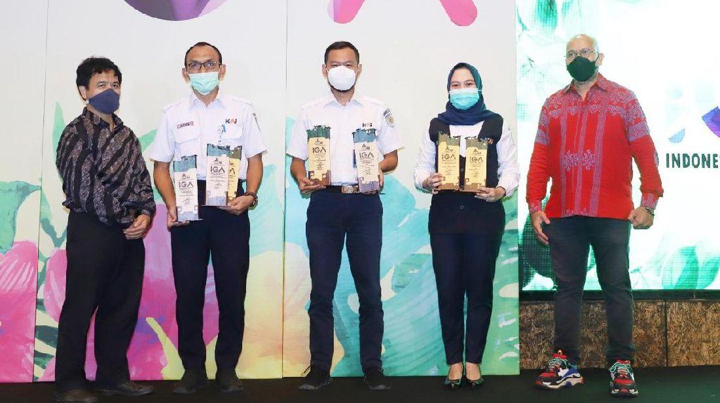KAI Sabet 8 Penghargaan di Ajang Indonesia Green Awards 2021