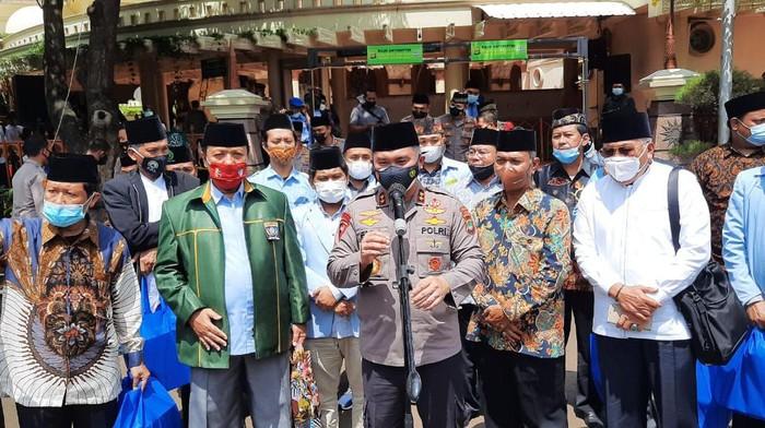 Kapolda Metro Jaya Irjen Fadil Imran bertemu dengan DMI dan BKPMI di Polda Metro Jaya