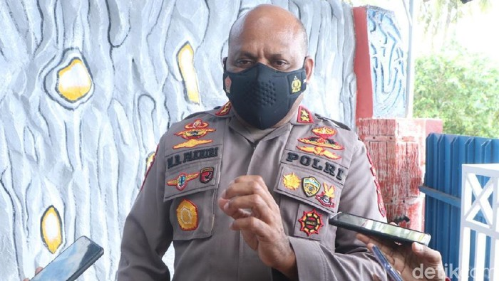 Kapolda Papua Irjen Mathius D Fakhiri